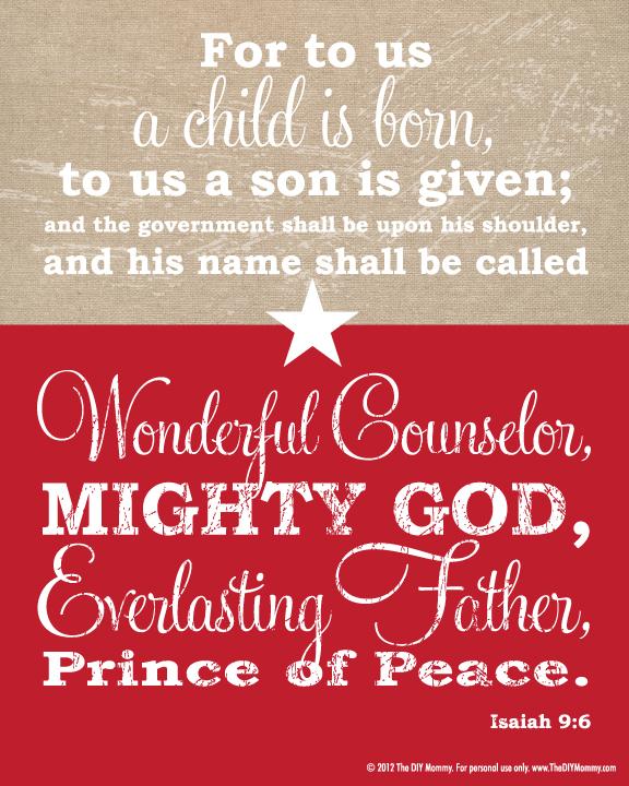 free christmas bible verse
