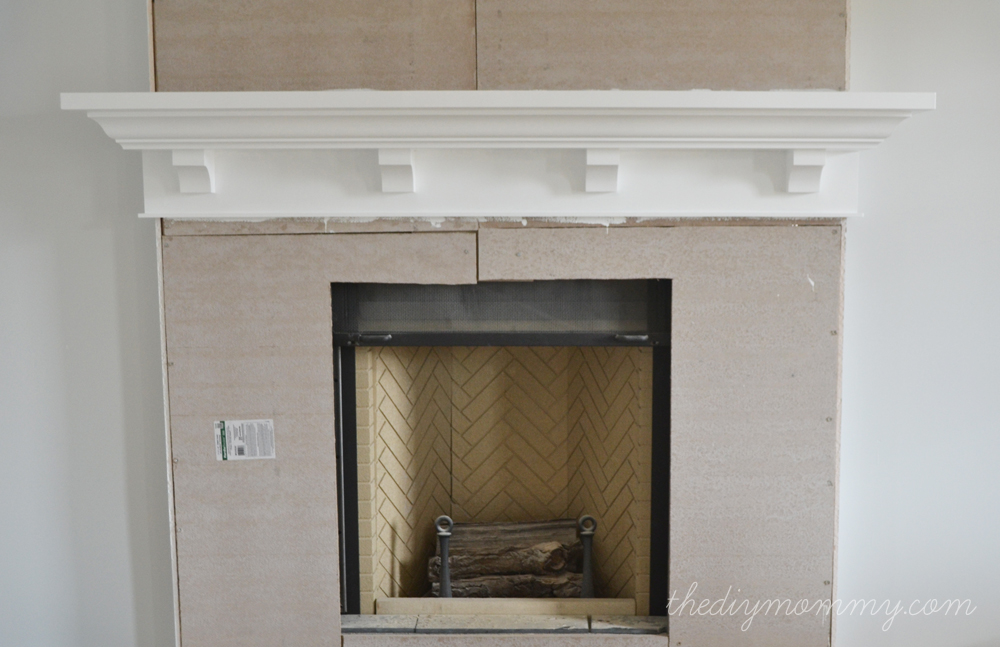 Fireplace Mantel Plans DIY Blueprint Plans Download the