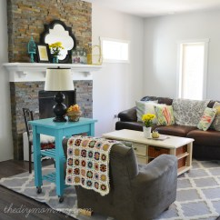 Diy Living Room Pictures Of Decorating Ideas For Small Rooms Our Rustic Glam Farmhouse House The Mommy
