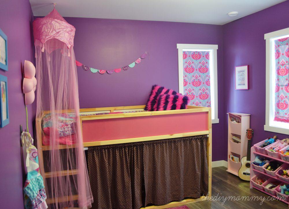 Little Cs Bright Jewel Toned Bedroom  Win Custom