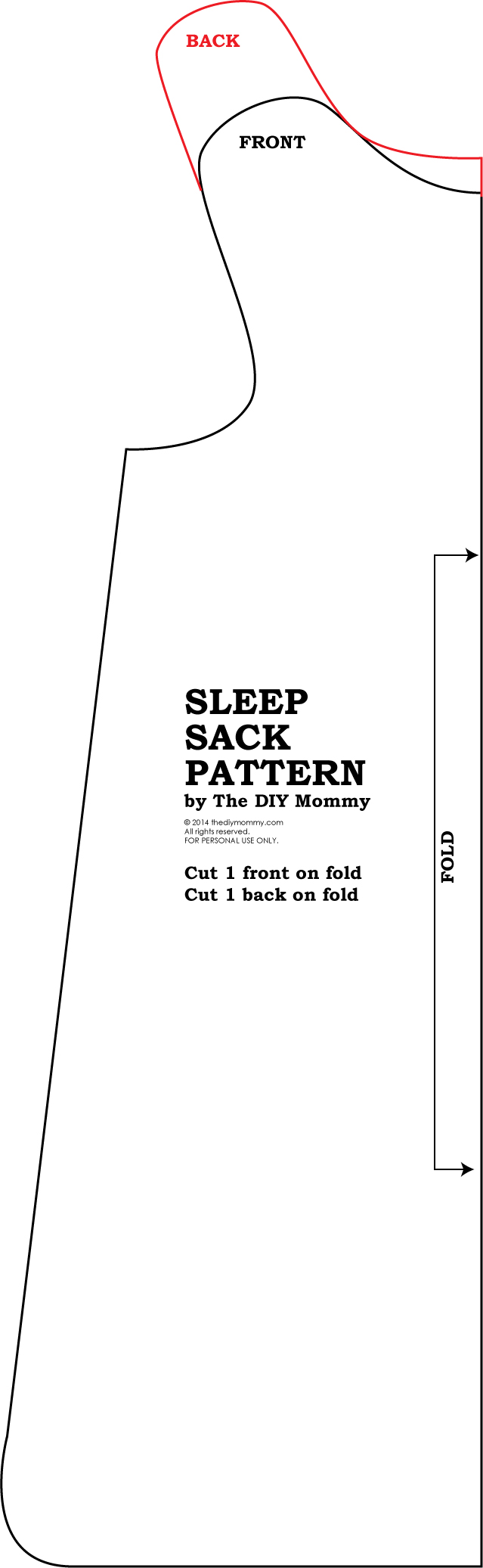 Baby Sleeping Bag Pattern : sleeping, pattern, Sleep, Mommy