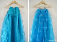 Elsa Princess Dress Tutorial