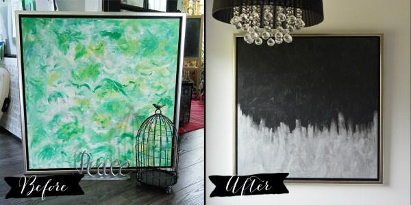Make Modern Artwork Thrift Store Canvas Art
