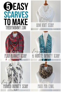 Make an Easy 15 Minute Infinity Scarf | The DIY Mommy