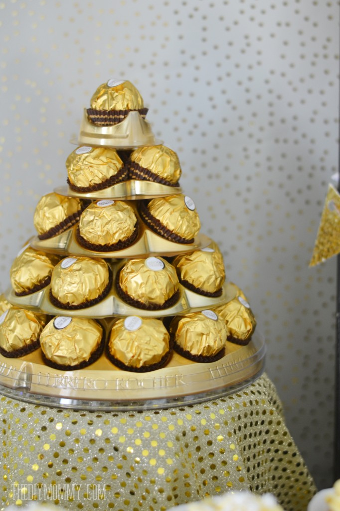 A Gold Amp Black Christmas And New Years Dessert Table