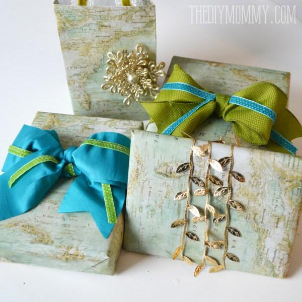 Christmas Gift Wrap Bags