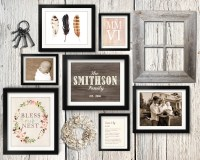 4 Simple Gallery Wall Tips + Gallery Wall Layout Ideas ...
