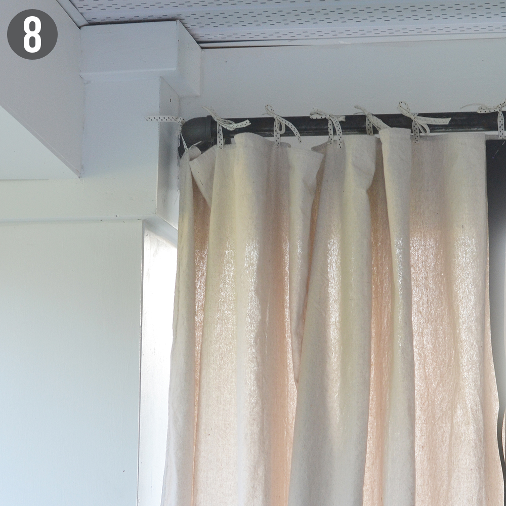 Outdoor patio curtains diy outdoor curtains for patio diy outdoor - Cabana Patio Makeover With Diy Drop Cloth Curtains