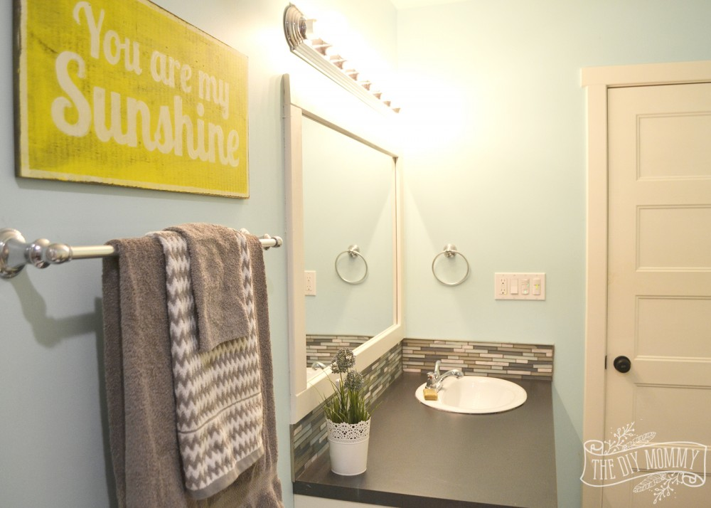 Kids Bathroom Reveal and some great tips for postreno