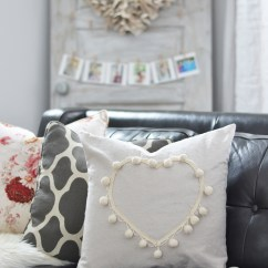 Pillow Covers For Living Room Cheap Small Ideas Black & Blush Pink Valentine's Day Home Decor + Diy ...