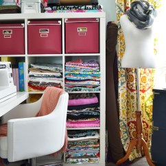 Kitchen Chairs With Casters Mosaic Floor Tiles My Colourful Boho Craft Room Office Tour (video) | The Diy ...
