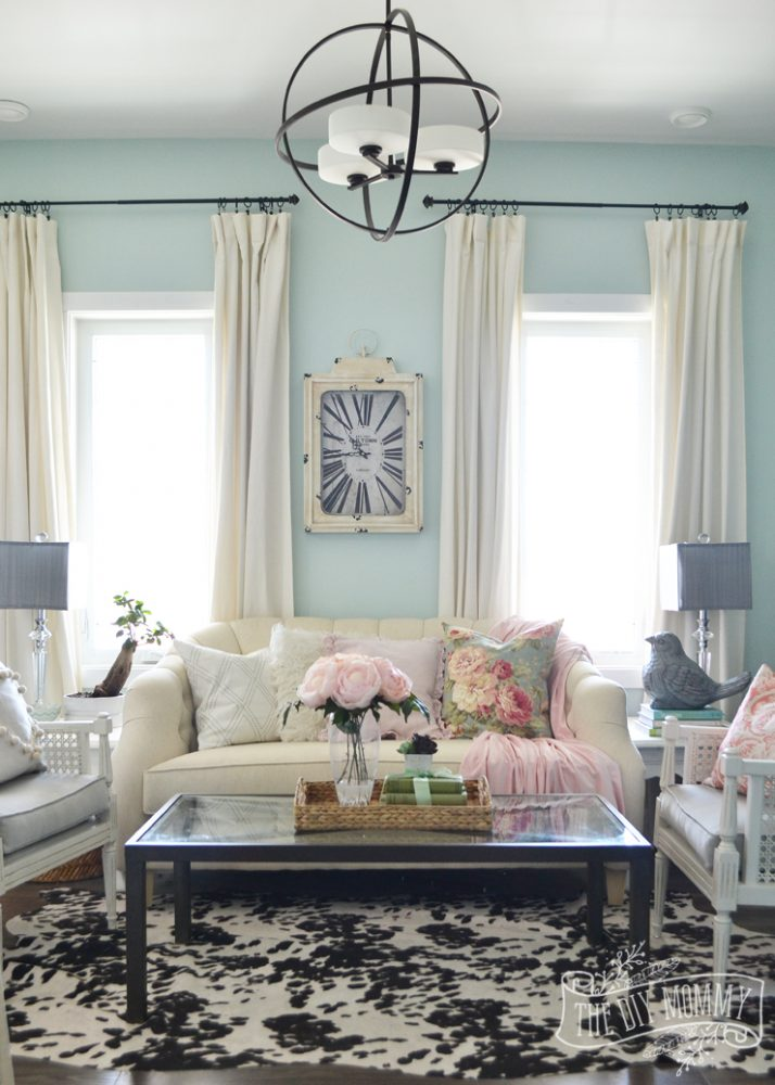 2016 Spring Home Tour Nature Inspired Vintage Farmhouse Decor The DIY Mommy