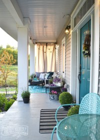 Country Front Porch Decor - Home Decorating Ideas