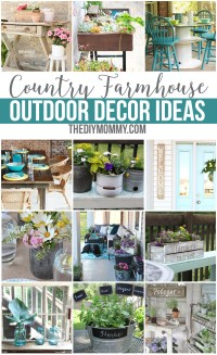 12 Gorgeous Country Farmhouse Outdoor Dcor Ideas | The ...