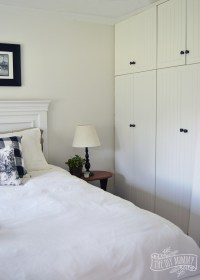 Our Guest Cottage Bedroom: A Small Space on a Budget in ...