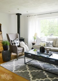 Our Guest Cottage Living Room: Neutral Mix