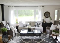Our Guest Cottage Living Room: Neutral Mix-and-Match Style ...