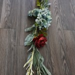 Make A Faux Floral Leaf Garland For A Fall Tablescape 12monthsofdiy The Diy Mommy