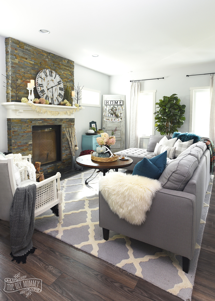 country pictures for living room sofa set images my home style before and after modern boho farmhouse with fall touches
