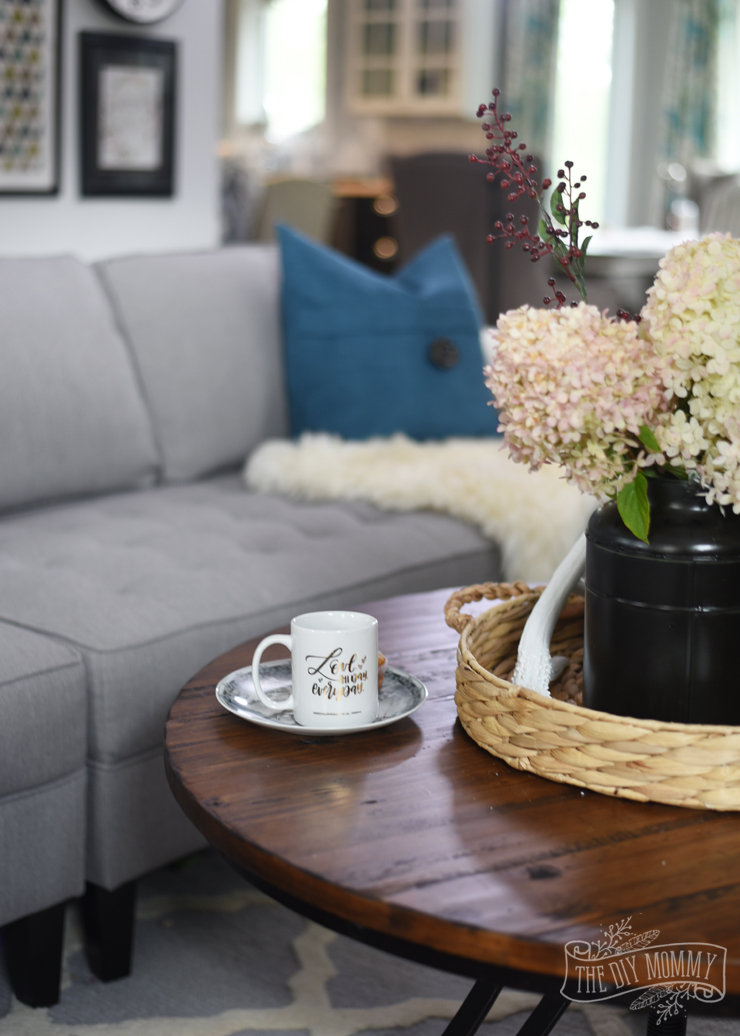Fall 2016 Home Tour Cozy Colourful  Relaxed