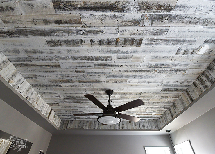 How to Install a Rustic Wood Ceiling with Stikwood (One
