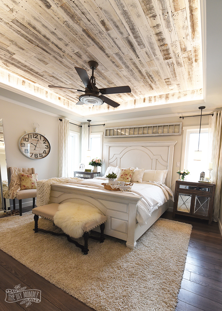 Our Modern French Country Master Bedroom