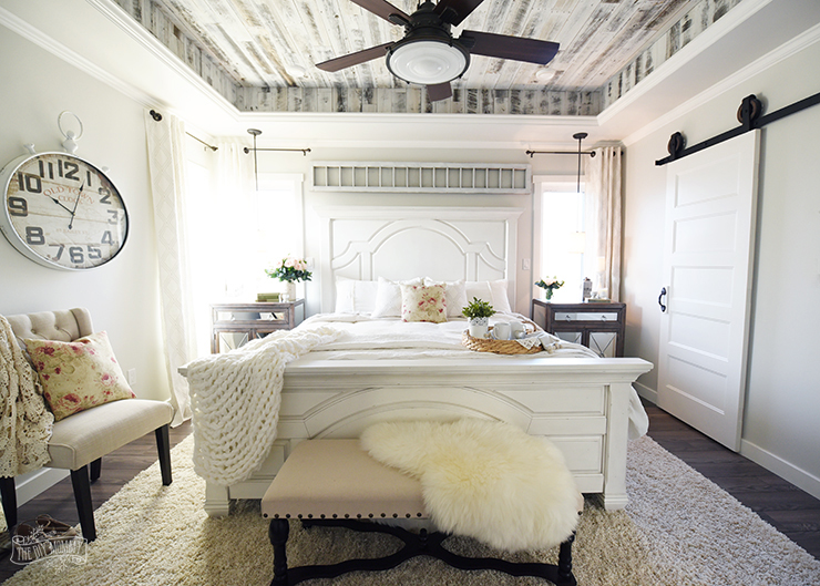 Our Modern French Country Master Bedroom  One Room