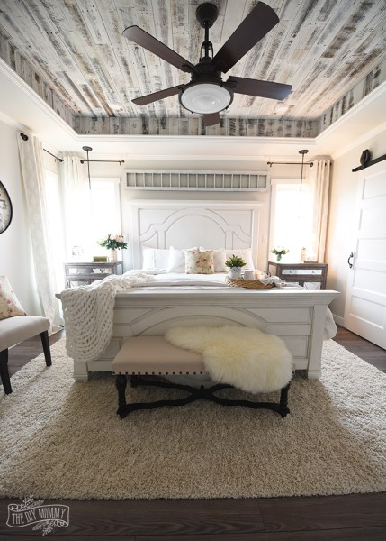 french farmhouse bedroom decor Our Modern French Country Master Bedroom – One Room Challenge Reveal