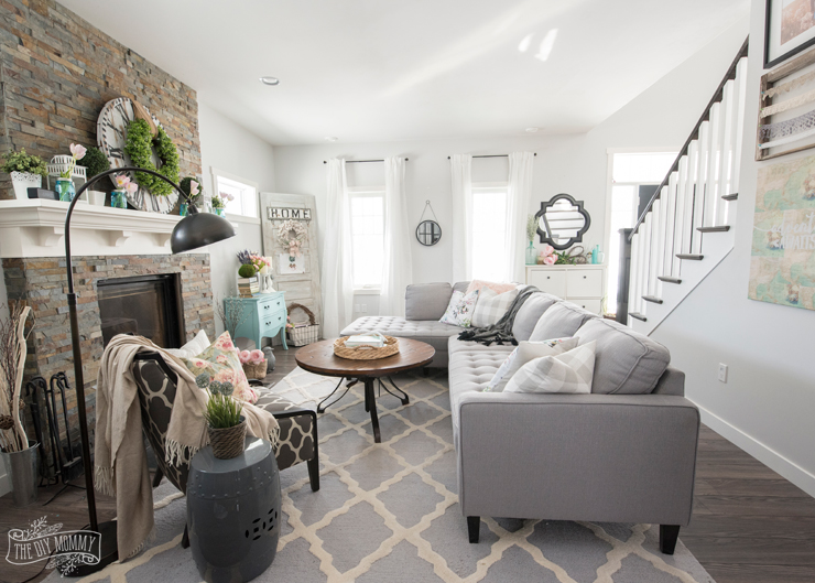 2017 Spring Home Tour The DIY Mommy