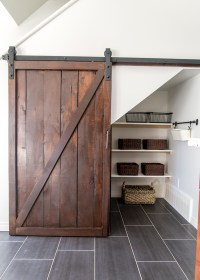 How to Build an Under Stairs Pantry with a DIY Sliding ...