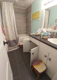 Kids Bathroom Organization Ideas + Free Printable Bathroom ...