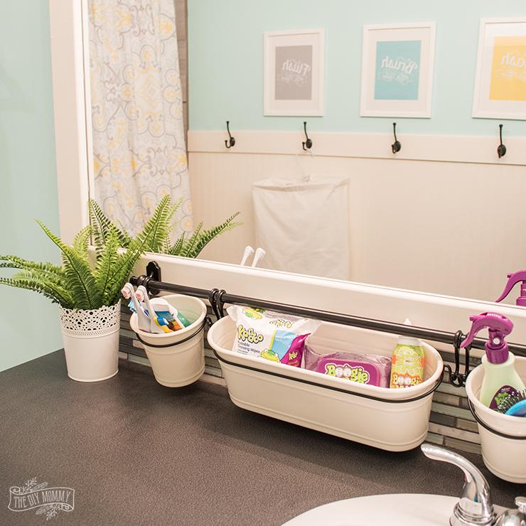 Kids Bathroom Organization Ideas  Free Printable Bathroom