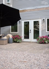 Our Modern French Country DIY Patio   The DIY Mommy