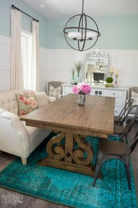 The Magic of Accessories: Our Summer Dining Room Decor