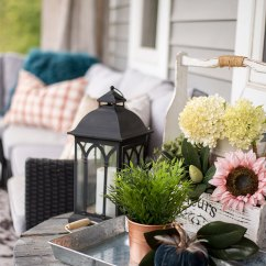 Red Outdoor Chair Pillows Wedding Covers.com Our Cheerful Fall Front Porch | The Diy Mommy