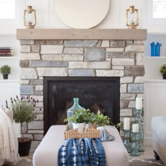 Lake House Living Room Ideas Sleek Traditional Coastal Cottage Reveal Mom S Decor