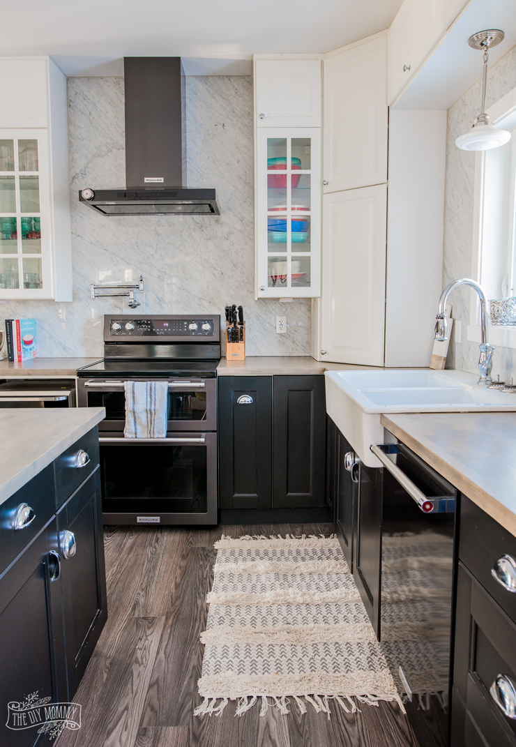 Our Kitchen Makeover with Black Stainless Steel Appliances ...