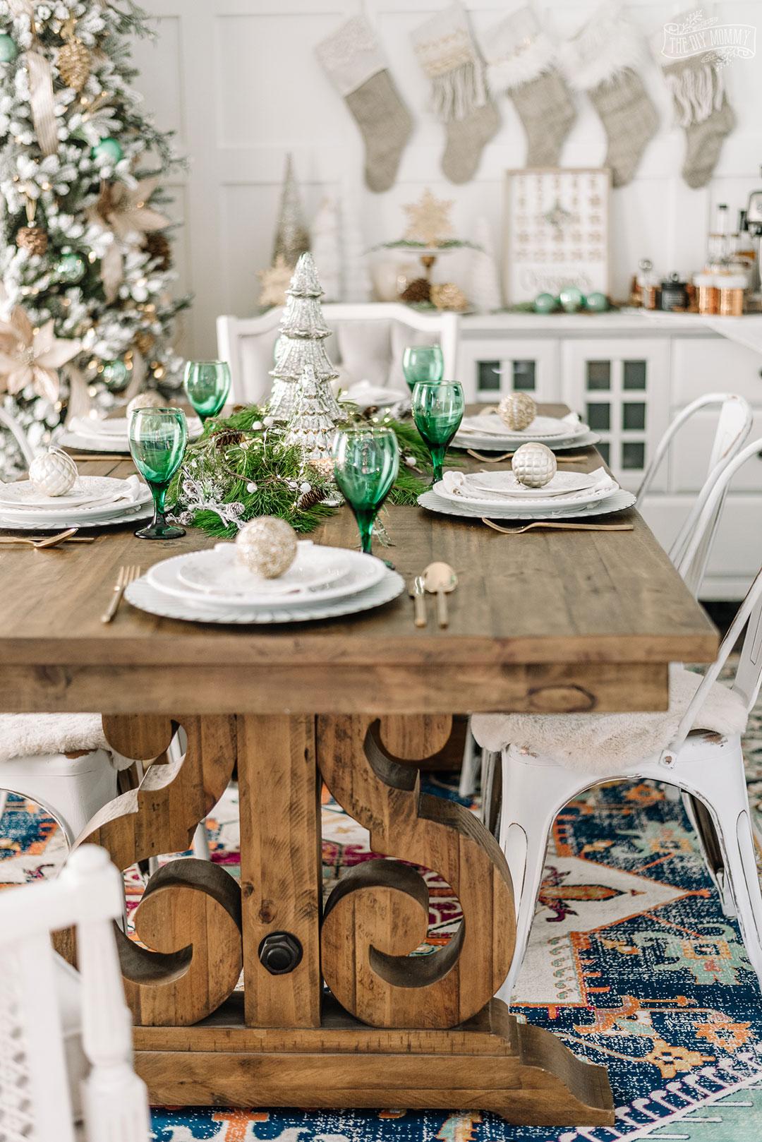2019 Christmas Home Tour Rustic Elegant Cozy The Diy