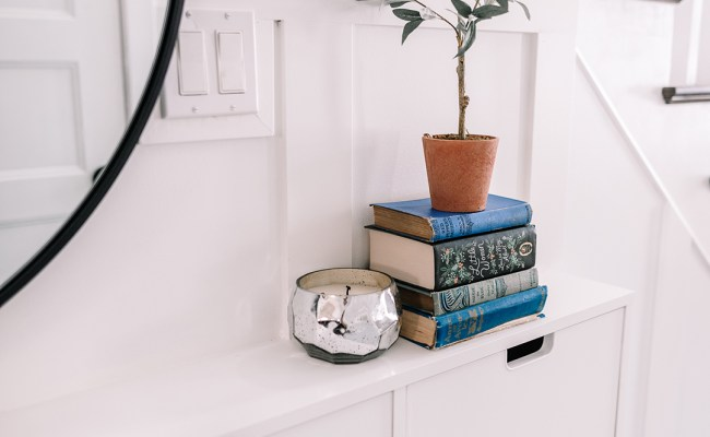 Small Entry Makeover With Tons Of Hallway Storage The