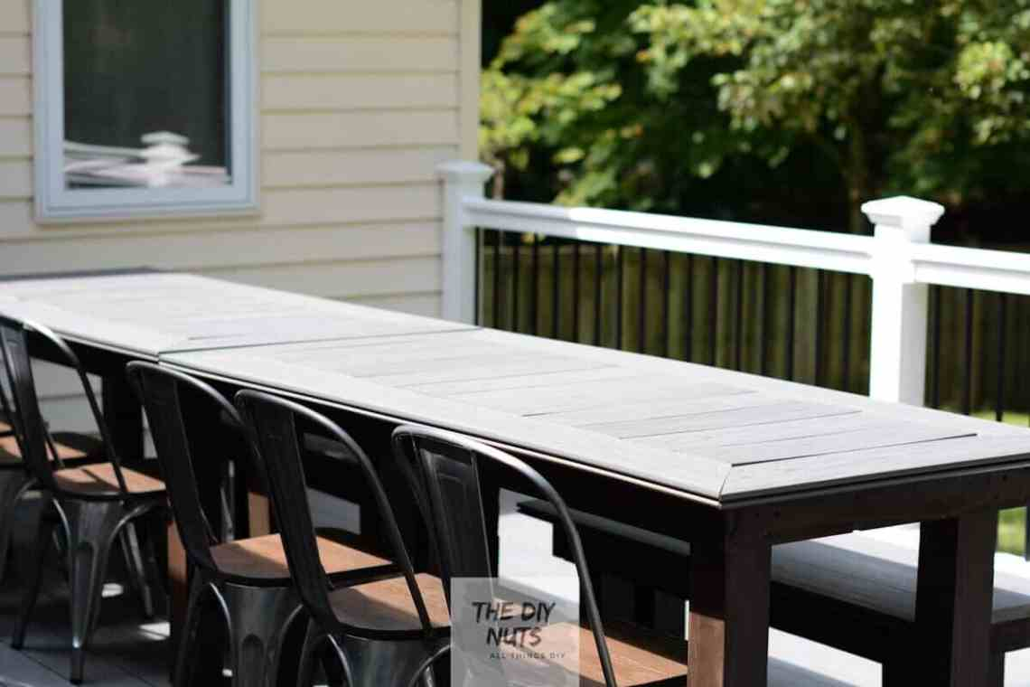 Awesome Diy Outdoor Table What To Do With Leftover Composite Home Interior And Landscaping Ymoonbapapsignezvosmurscom