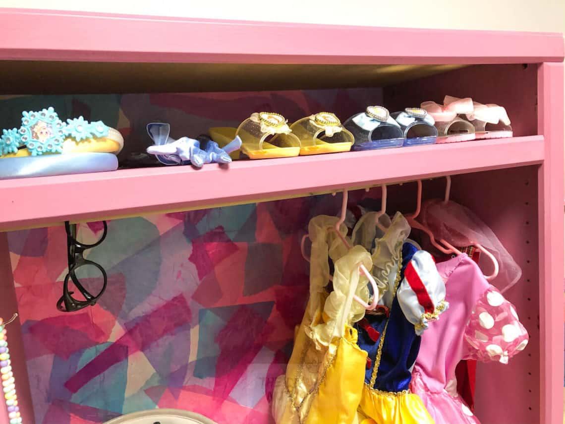 Best Children S Dress Up Clothes Storage Idea Diy Children S Dress Up Wardrobe The Diy Nuts