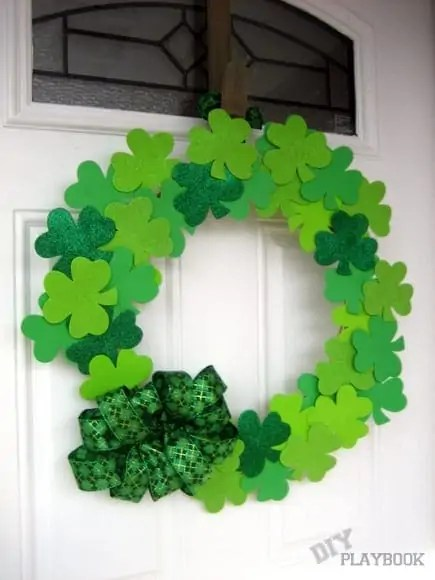 A Wreath for St. Patrick's Day