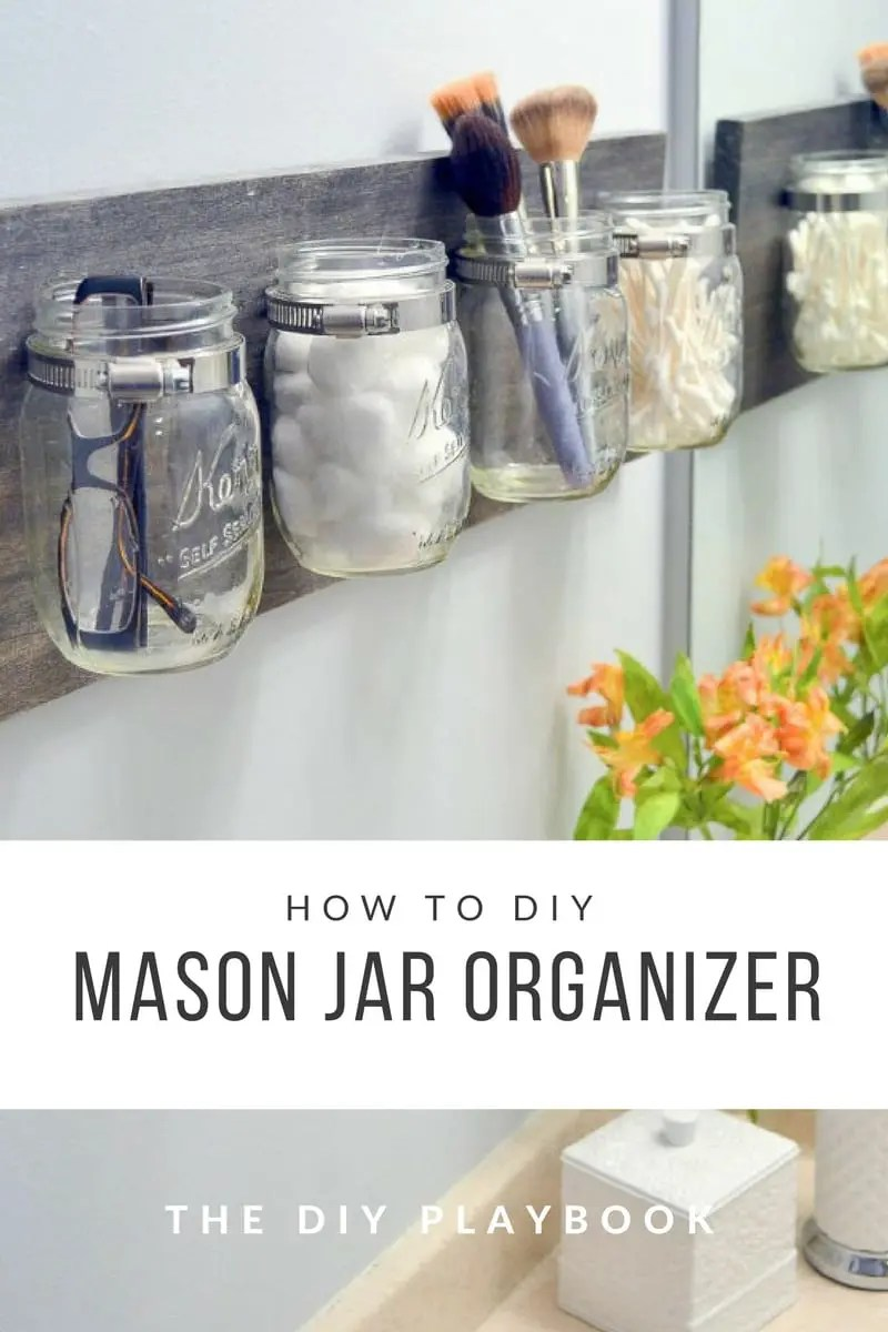 diy rocking chair kit little girl table and set how to create an easy mason jar organizer | the playbook