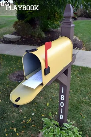 Letters-in-Yellow-Mailbox