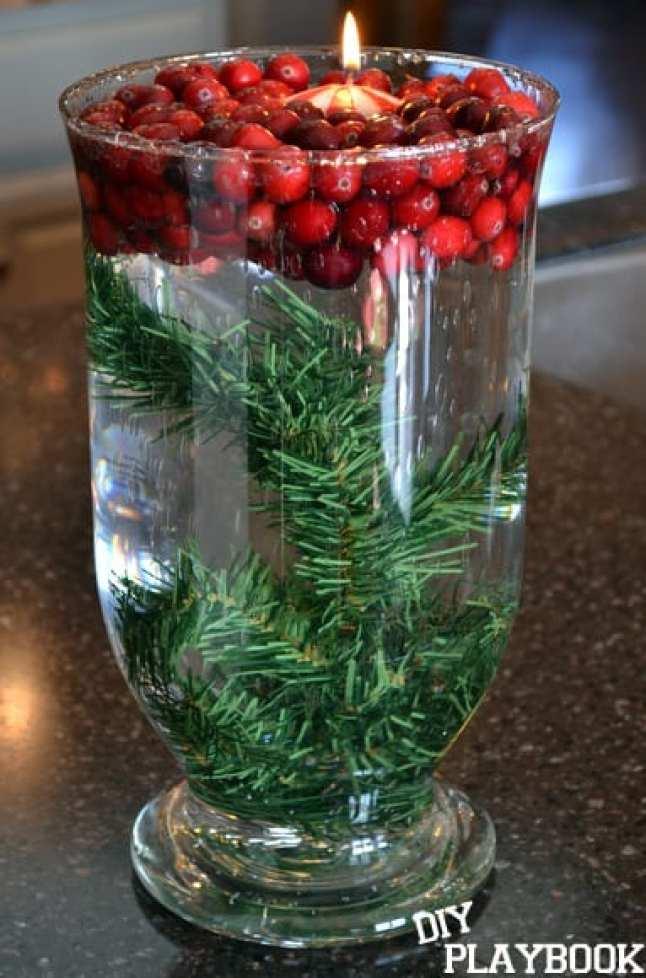 Christmas-Vase