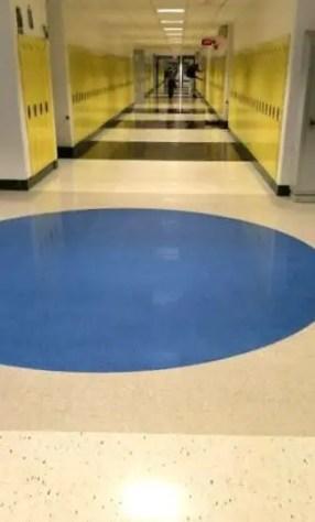 hallway school locker