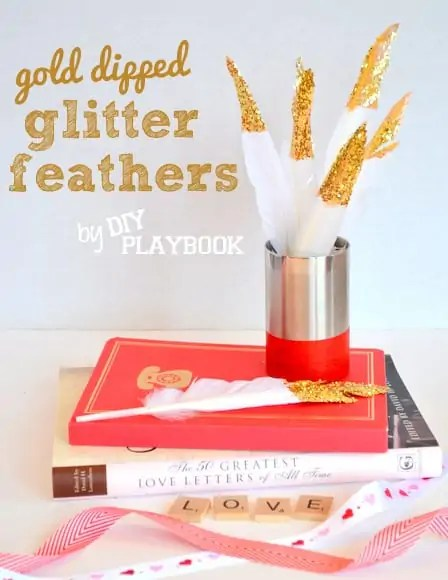 Gold-Dipped-Glitter-Feathers