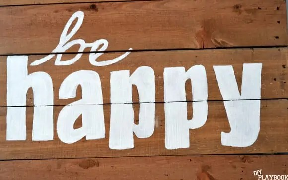 Be hapy