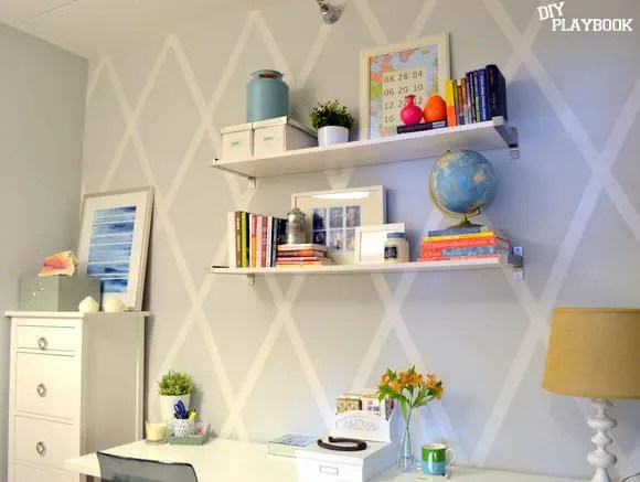 Scotch-Tape-Accent-Wall