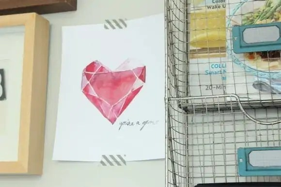free printables on gallery wall